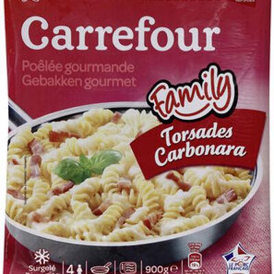 Torsades carbonara (Carrefour)