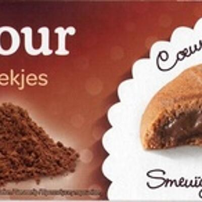Sablés coeur fondant cacao (Carrefour)