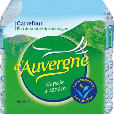 Eau d'auvergne (Carrefour)