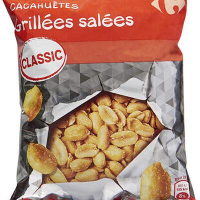 Cacahuètes grillées salées (Carrefour)