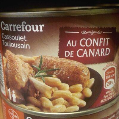 Cassoulet toulousain (Carrefour)