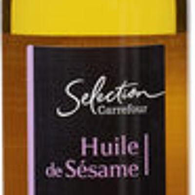 Huile de sésame (Carrefour sélection)