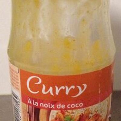 Cooking sauce curry (Carrefour)