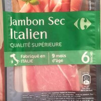 Jambon sec italien (Carrefour)