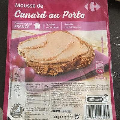 Mousse de canard au porto (Carrefour)