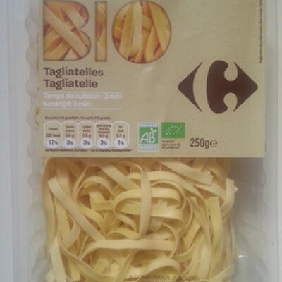 Tagliatelles bio (Carrefour bio)