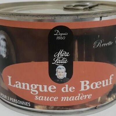 Langue de bœuf sauce madère (Mère lalie)