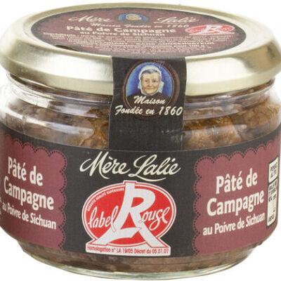 Pâté de campagne au poivre de sichuan label rouge (Mère lalie)