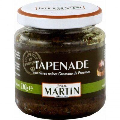 Jean martin tapenade noire (Jean martin)