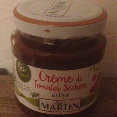 Crème de tomates séchées au thym (Jean martin)