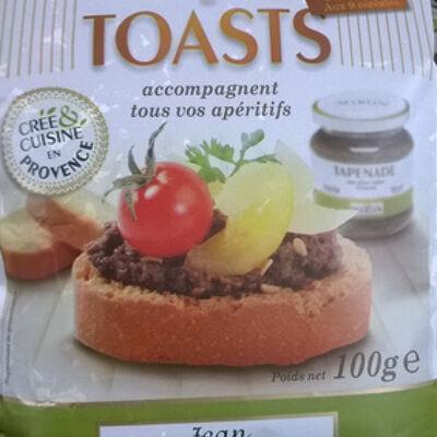 Mini toasts (Jean martin)