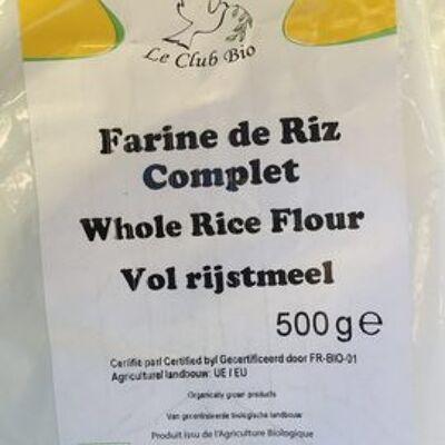 Farine de riz complet (Happy bio)