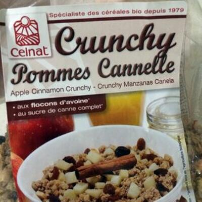 Crunchy pommes cannelle (Celnat)