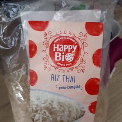 Riz thaï semi-complet (Happy bio)