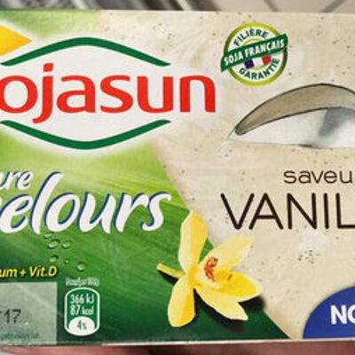 Texture velours saveur vanille (Sojasun)