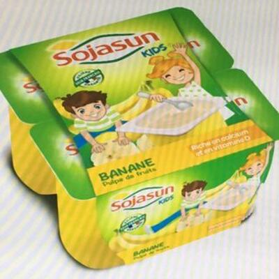 Kids - banane- pulpe de fruits (Sojasun)