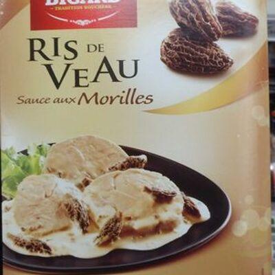 Ris de veau sauce aux morilles (Bigard)