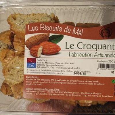 Croquant barquette (Les biscuits de mél)