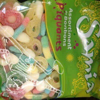 Assortiment de bonbons piquants halal (Samia)