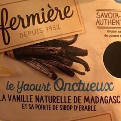 Yaourt onctueux a la vanille (La fermiere)