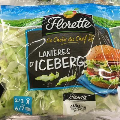 Lanières d'iceberg (Florette)