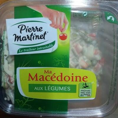 Macedoine de legumes assaisonnée (Pierre martinet)