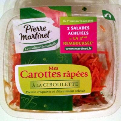 Mes carottes râpées (Pierre martinet)