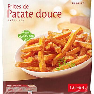 Frites de patate douce (Thiriet)
