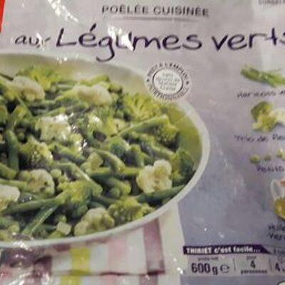 Poêlée cuisinée aux légumes verts (Thiriet)