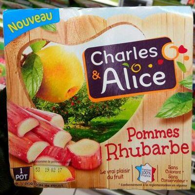 Pommes rhubarbe (Charles & alice)