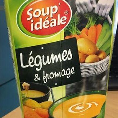 Légumes & fromage (Soup' idéale)
