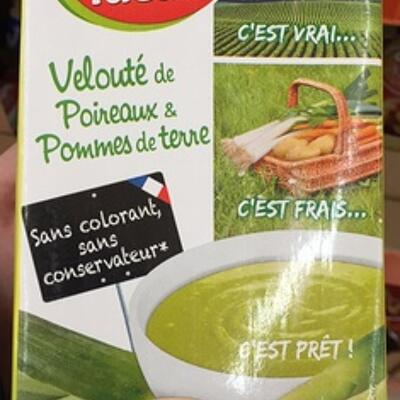 Velouté de poireaux & pommes de terre (Soup'idéale)