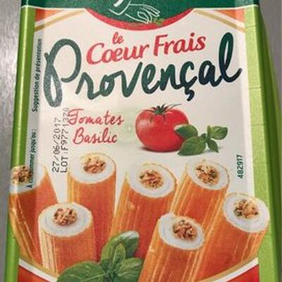 Le cœur frais provencal - tomates basilic (Fleury michon)