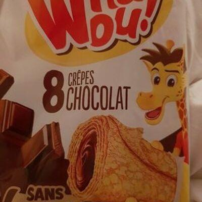 Crêpes chocolat (Whaou!)