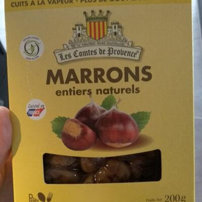 Marrons entiers naturels (Les comtes de provence)