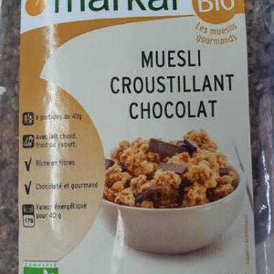 Muesli croustillant chocolat (Markal)