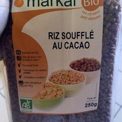 Riz soufflé au cacao (Markal)