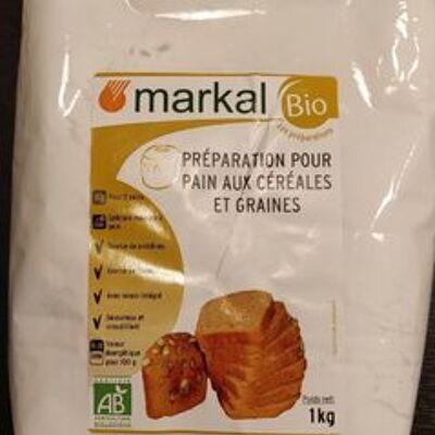 Preparation pour pain cereales & graines (Markal)