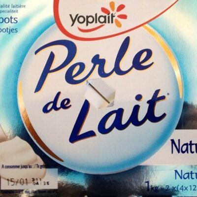 Perle de lait (nature) 8 pots (Yoplait)
