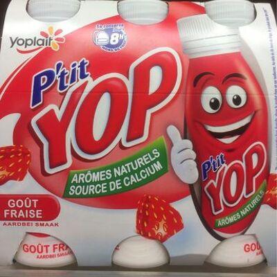 Yab ptit yop aromatise fraise (Yoplait)