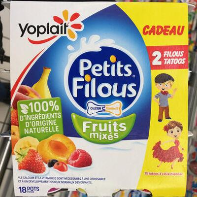 Petits filous fruits mixés (Yoplait)