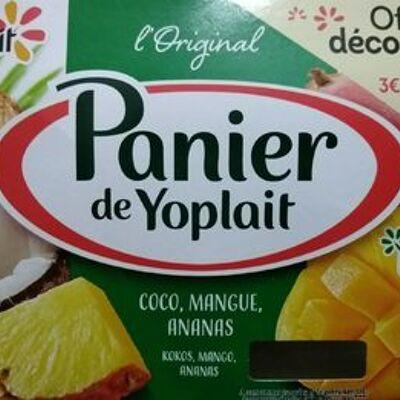 Panier de yoplait exotique (Yoplait)