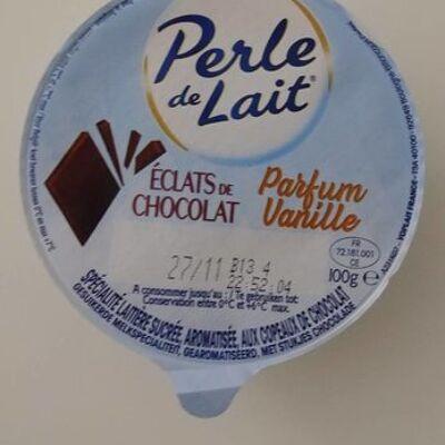 Perle de lait eclats de chocolat parfum vanille (Perle de lait)