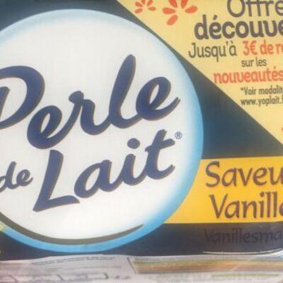 Perle de lait vanille (Yoplait)