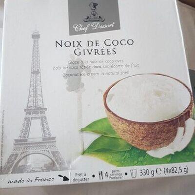 Noix de coco givrées (Chef dessert)