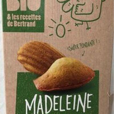 Madeleines pâtissiers aux oeufs frais (Vital bio & les recettes de bertrand)