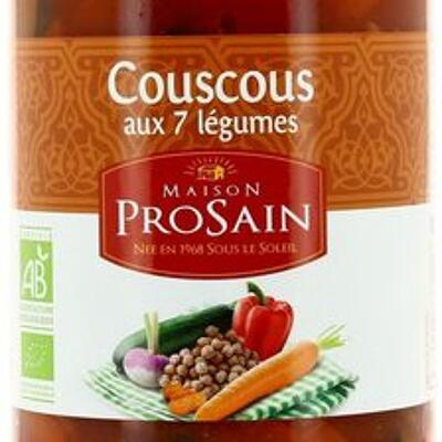 Couscous aux 7 légumes (Prosain)