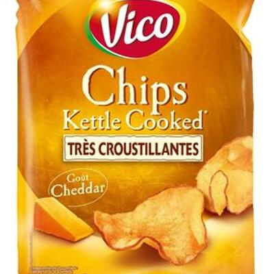 Chips kettle cooked cheddar (Vico)