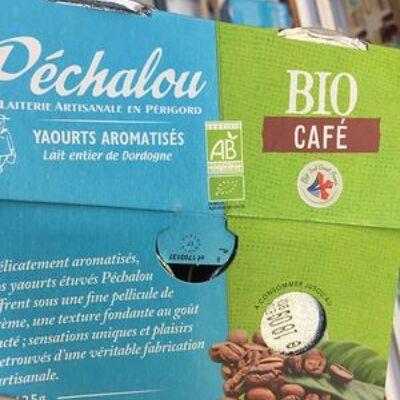 Yaourt aromatisé café (Péchalou)