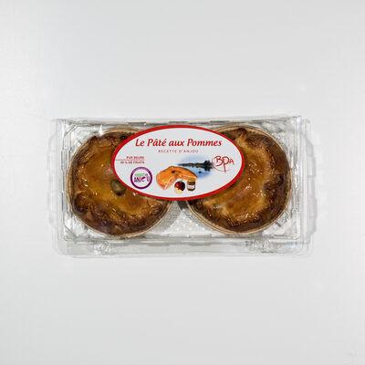 Pâtés pommes caramel individuels 2x180g (Bpa)